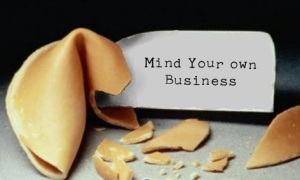 mind your own business fortune